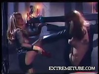 Vintage horny and wet shemale video