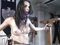 Sexy shemale brutally getting sex