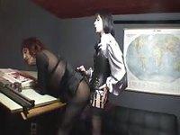 Having sex in office