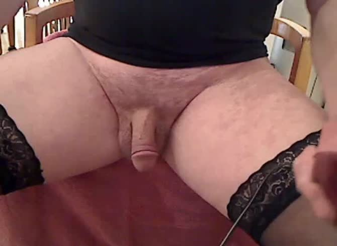 Shave pubic hair shemale