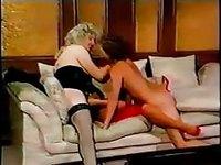 Vintage Threesome video