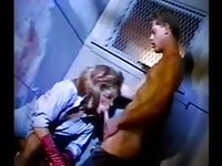 Sexy vintage Tgirl is a cocksucking whore in this classic porno