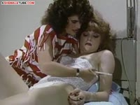 Classic transsexual sex video featuring mature shemale slut Leilani explored by her friend
