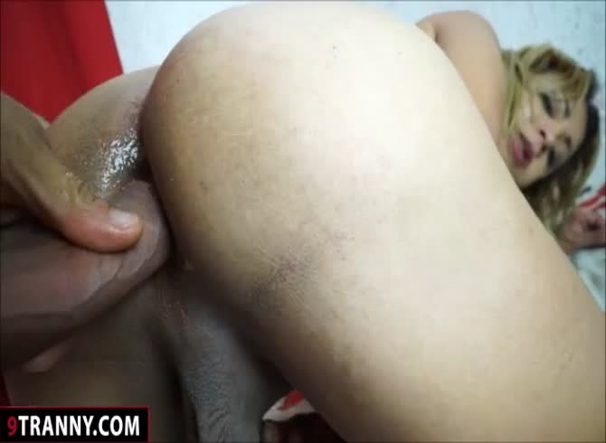 Latin TS Adriane Paulucio Blowjob And Anal